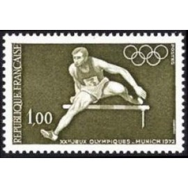 France Yvert Num 1722 ** JO munich course  1972