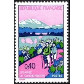 France Yvert Num 1723 ** Tourisme rando  1972