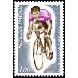 France Yvert Num 1724 ** Cyclisme velo  1972