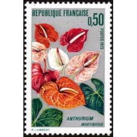 France Yvert Num 1738 ** Flore Martinique  1973