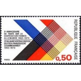 France Yvert Num 1739 ** Allemagne  1973