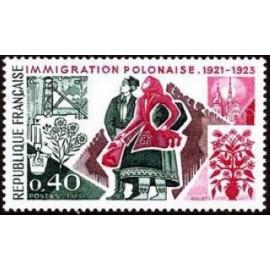 France Yvert Num 1740 ** Pologne  1973