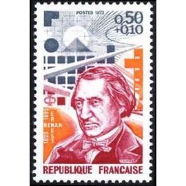 France Yvert Num 1745 ** Ernest Renan  1973