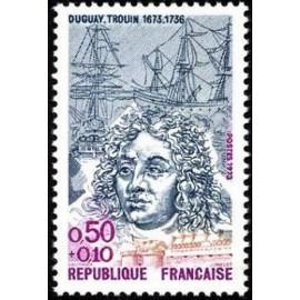 France Yvert Num 1748 ** Duguay Trouin  1973