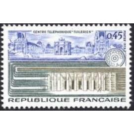 France Yvert Num 1750 ** telephone  1973
