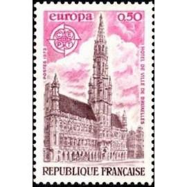 France Yvert Num 1752 ** Europa  1973