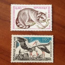 France Yvert Num 1754-1755 **   1973