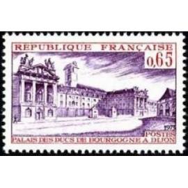 France Yvert Num 1757 ** Dijon  1973