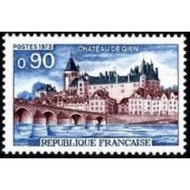 France Yvert Num 1758 ** Château de gien  1973