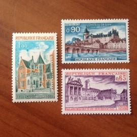 France Yvert Num 1757-1759 **   1973