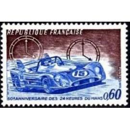 France Yvert Num 1761 ** le Mans AUTO  1973