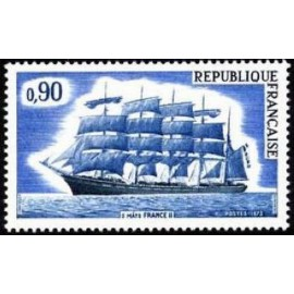 France Yvert Num 1762 ** Voiliers  1973