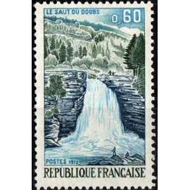 France Yvert Num 1764 ** Saut du Doubs  1973