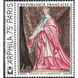 France Yvert Num 1766 ** Tableau Richelieu  1973