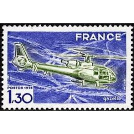 France Yvert Num 1805 ** Helicoptere  1974