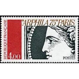 France Yvert Num 1833 ** Arphila  1975