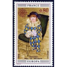 France Yvert Num 1840 ** Europa Picasso  1975