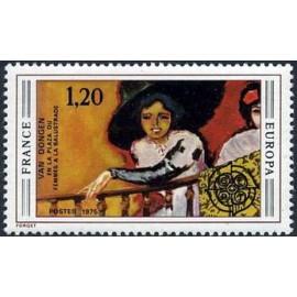 France Yvert Num 1841 ** Europa  1975