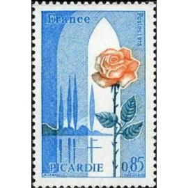 France Yvert Num 1847 ** Picardie  1975