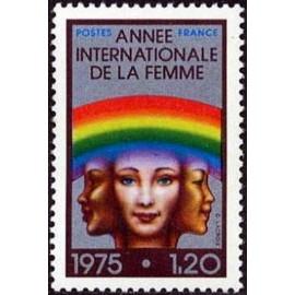 France Yvert Num 1857 ** Femme  1975