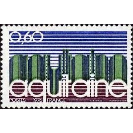 France Yvert Num 1864 ** Aquitaine  1976