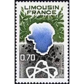 France Yvert Num 1865 ** Limousin  1976