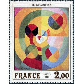 France Yvert Num 1869 ** Tableau Delaunay  1976