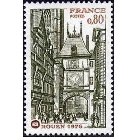 France Yvert Num 1875 ** Rouen  1976
