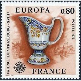 France Yvert Num 1877 ** Europa   1976