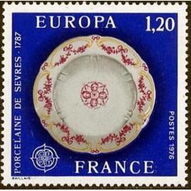 France Yvert Num 1878 ** Europa   1976