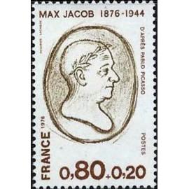 France Yvert Num 1881 ** Max Jacob  1976