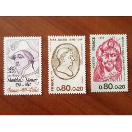 France Yvert Num 1880-1882 **   1976
