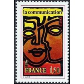 France Yvert Num 1884 ** Communication  1976