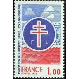 France Yvert Num 1885 ** FFI FFl  1976