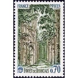 France Yvert Num 1886 ** Foret de Tronçais  1976