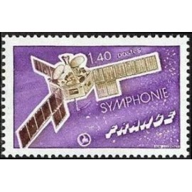 France Yvert Num 1887 ** Satellite  1976