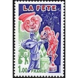 France Yvert Num 1888 ** La Fete  1976