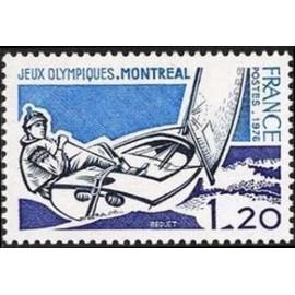 France Yvert Num 1889 ** JO Montreal  1976