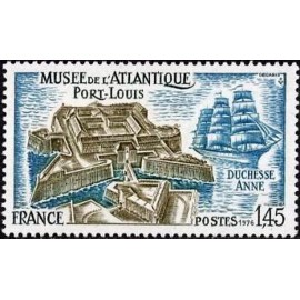 France Yvert Num 1913 ** Port Louis Morbihan  1977