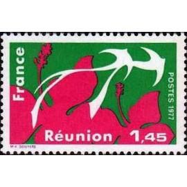 France Yvert Num 1914 ** Reunion  1977