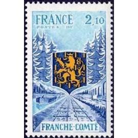 France Yvert Num 1916 ** Franche Compté  1977