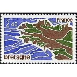 France Yvert Num 1917 ** Bretagne  1977