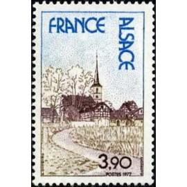 France Yvert Num 1921 ** Alsace  1977
