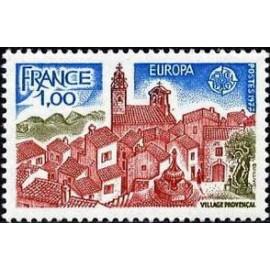 France Yvert Num 1928 ** Europa   1977