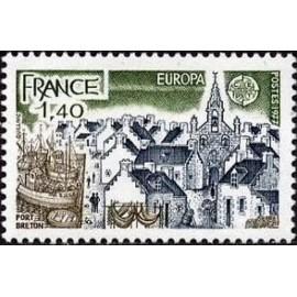 France Yvert Num 1929 ** Europa   1977