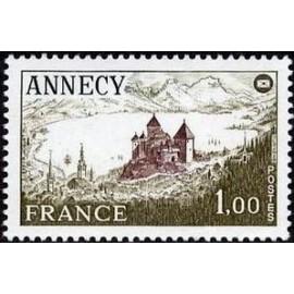 France Yvert Num 1935 ** Annecy  1977