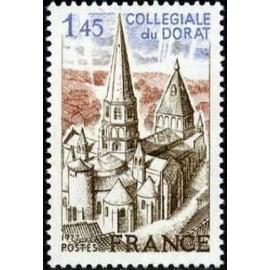 France Yvert Num 1937 ** Dorat  1977