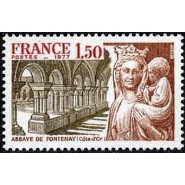 France Yvert Num 1938 ** Fontenay  1977