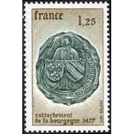 France Yvert Num 1944 ** Bourgogne  1977