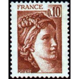 France Yvert Num 1965 ** Sabine  1978